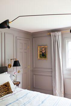 Living Room Decoration and Design Ideas - Ribbons & Stars Room Ideas Bedroom, Home Bedroom, Gray Bedroom, Violet Bedroom Walls, Bedroom Modern, Decor Room, Contemporary Bedroom, Teen Bedroom, Master Bedroom