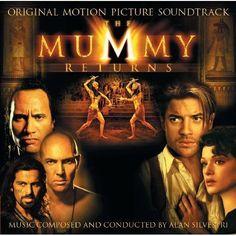 The Mummy Returns [Original Motion Picture Soundtrack] by Alan Silvestri CD 2001 #FilmScoreSoundtrack
