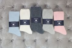 The most amazing 100% cashmere bed socks  These are so much warmer than the usual bed socks Can be bought from wisteriatradingltd@gmail.com