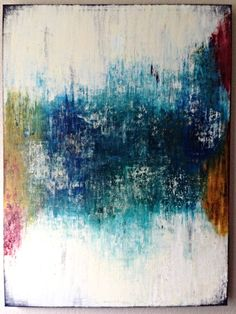 Oil Painting- Large Colorful Abstract Artwork on 4'x3' Canvas