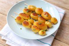 BBQ: gekruide aardappelspiesjes - Lekker en simpel !