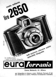 Ferrania Eura 2650 Pub 1960 It 850