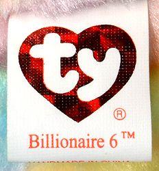 Billionaire employee exclusive Beanie Baby signed by Ty; Valuable Beanie Babies, Beanie Babies Value, Beanie Baby Bears, Ty Beanie, Billionaire, Lululemon Logo, Tattoos, Ideas, Tatuajes