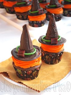 Witch Hat Cupcakes!!!