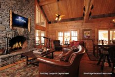 Blue Ridge Mountain Rentals features the Best Boone NC Cabin Rentals, Blowing Rock Cabin Rentals, Banner Elk Cabin Rentals with hot tubs, great views, etc. Boone Nc Cabin Rentals, Blowing Rock Nc, Blue Ridge Mountains, Great View, Game Room, Luxury Homes, Red, Home Decor, Luxurious Homes