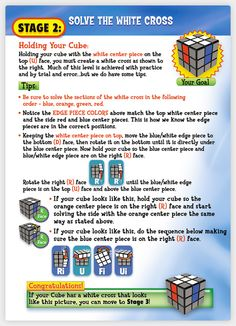 Solution Stage Two - You CAN Do The Rubiks Cube!