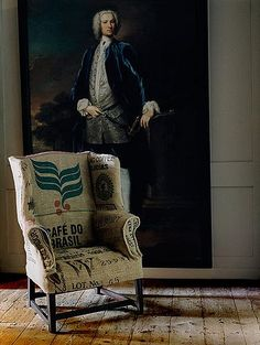 washington, grain bag upholstry