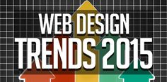 Web Design Trends in 2015 If you have realized it, then we are moving closer towards the end of the present year and ahead of us lies the future which is totally unpredictable expect for few things. Over the past few years, the general popular look of the internet has indeed changed quite a bit for developers and designers. So let's have a look at the Web Design Trends in 2015.