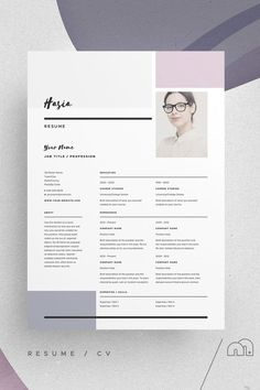 Resume/CV and cover letter template. Pitch Pack Hasia For those looking for - Resume/CV and cover letter template. Pitch Pack Hasia For those looking for Resume/CV and cover letter template. Pitch Pack Hasia For those looking for Template Cv, Resume Design Template, Cover Letter Template, Letter Templates, Resume Templates, Cover Letters, Creative Cv Template, Templates Free, Print Templates