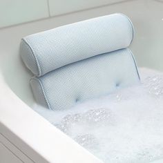 Home Spa Bath Pillow By Ideaworks Bubble Baths Bubbles