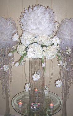 52 best centerpiece feather ball images in 2019 diy wedding rh pinterest com