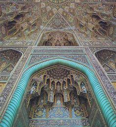 Goharshad Mosque, Mashad, Iran - Another sample of the amazing tile work that we experenced during our years in Iran.