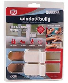 WINDOBULLY WNDW LOCK 2PK by WINDO BULLY MfrPartNo 528 Win... https://smile.amazon.com/dp/B017RLSKSI/ref=cm_sw_r_pi_dp_x_zWq3ybTTVEZSE