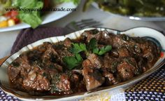 The liver when it is well prepared, it is excellent in taste, my two favourite recipes, in this sui is lamb liver and sheep Algerian Recipes, Oriental Food, Eastern Cuisine, Iftar, Turkish Recipes, Some Recipe, Food Inspiration, Entrees, Food Porn