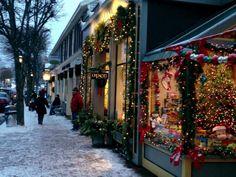main street images | Photo of Main Street, Ogunquit, Maine (December, 2012)