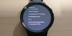 Huawei Watch erhält nächstes Sicherheitspatch als Update #Android #Downloads #Firmware