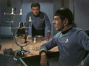 Star Trek original series 3 dimensional chess game.
