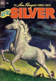 Resultado de imagem para horse in Comics And Books Old Comic Books, Vintage Comic Books, Vintage Comics, Comic Book Covers, Comic Book Characters, Western Comics, Western Art, Western Decor, Horse Books