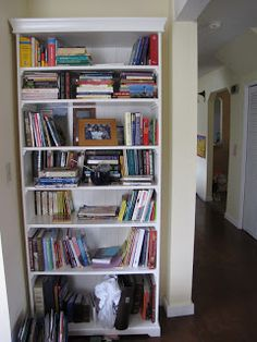 KnittyWhit: March 2012 Decor, Shelves, Bookshelves, Bookcase, Ikea, Liatorp, Home Decor