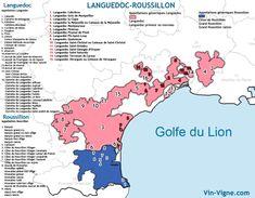 Les vignobles du Languedoc-Roussillon