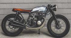 ϟ Hell Kustom ϟ: Honda CB550F 1975 By Thirteen And Company
