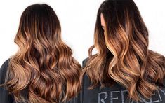 Color How-To: Rusted Copper Balayage Copper Balayage Brunette, Full Balayage, Balayage Highlights, Hair Color Balayage, Medium Bob Hairstyles, Winter Hairstyles, Hair Rinse, Hair Affair, Hair Beauty