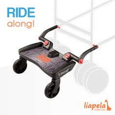 Does your older child get jealous of baby getting to relax in a stroller?  The Buggy Board from Lascal is your solution! Like on Instagram @LiapelaModernBaby