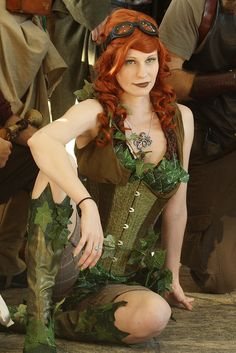 "Otakon 2011 - Steampunk version of ""Poison Ivy"" from DC Comics by Ardias"