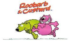rhubarb and custard cartoon (c.1970s) I still love the theme tune! :-)