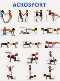 A cool way to introduce yoga and partner yoga to kids in the school environment.