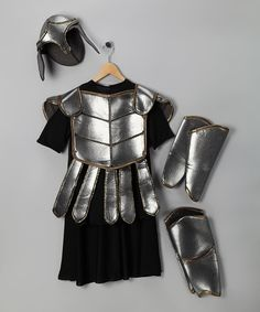 My boys would LOVE this Gladiator costume on #zulily. It seems like the great costumes are usually for the girls.