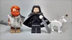 Image result for jon snow lego minifigure