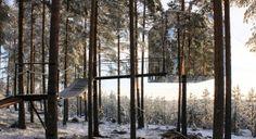 treehotel, avant-garde tree houses in sweden #JetsetterCurator