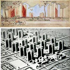 city of tomorrow le corbusier - Google Search