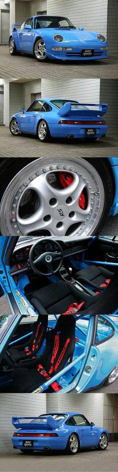 1995 Porsche 911 Carrera RS Clubsports / Germany Japan / blue / Club Sport CS / 993 / hypercarbulli