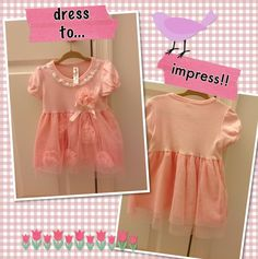 Found while shopping at TotSpot iPhone app : Pretty in pink dress. Download TotSpot from the app store. Shop and sell kids fashion easily. #kidsfashion #stylekids #lilstylers #lilfashionista #kidsshop #kidsclothes #babyclothes #babyshop #babyfashion #shopmycloset