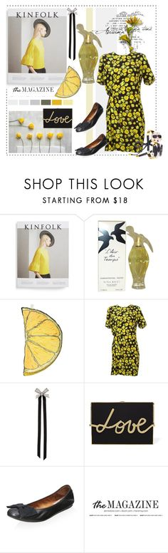 """""""July 22"""" by anny951 ❤ liked on Polyvore featuring Kinfolk, Nina Ricci, Silken Favours, Lanvin and Bijoux de Famille"""