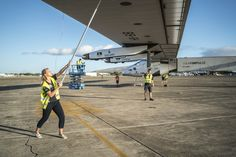Paige Kassalen, 22 years old, is making history with World's First Solar-Powered Flight
