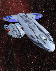 Star Trek Fleet, Star Trek Ships, Star Trek Starships, Star Trek Enterprise, Starfleet Ships, Starship Concept, Star Trek Images, Sci Fi Spaceships, Spaceship Art