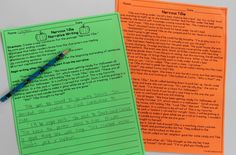 Halloween Reading and Writing Activities for the Classroom! Love these close reading passages with a Halloween theme!