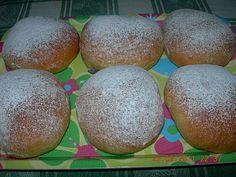 Γλυκές Τρέλες: Ντόνατς γεμιστά με μερέντα στον φούρνο! Greek Desserts, Sweet Bread, Doughnuts, Sweet Recipes, Easter Eggs, Cooking, Food, Candies, Tutorials