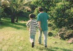 George Harrison and Dhani Harrison