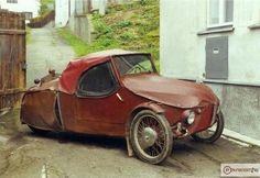 Czechoslovakian-Velorex: car for disabled people