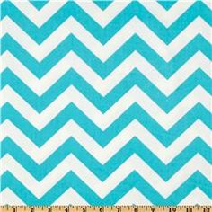 Premier Prints Twill ZigZag Girly Blue - for the chair $7.98