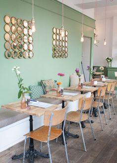 diseño de interior cafeteria bar