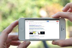 #Google favorirà nel ranking i siti ottimizzati per il mobile per la navigazione da #smartphone