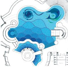 Glass Mosaic DIY Design in Art Pattern for Swimming Pool Tile ...