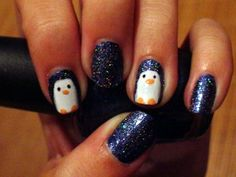 Cute winter ideas for nails