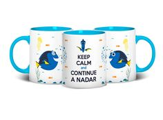 Caneca Keep Calm And Dory.