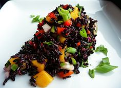 Curry Forbidden Black Rice Salad - Healthy, Gluten-Free, Oil-Free, Spicy, Plant-Based, Vegan Protein Full Res 2.JPG